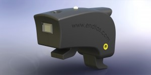 On off switch at the back side, Charging jack at the right side ( yellow )