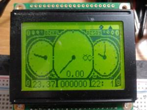 analog mode close up