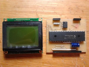 128x64 Graphics LCD and the mainboard