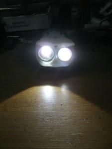 the lighting power is pretty good.