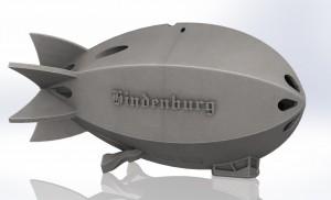 Hindenburg perspective view