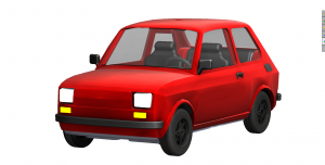 Fiat 126 perspective