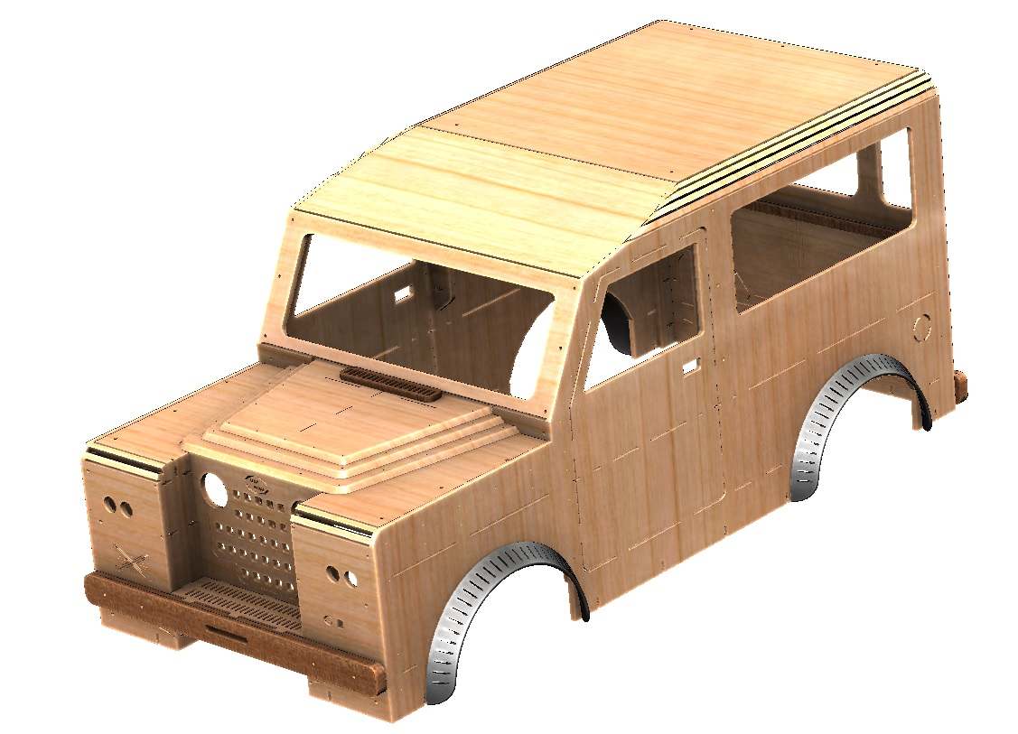 Land Rover Bodyshell
